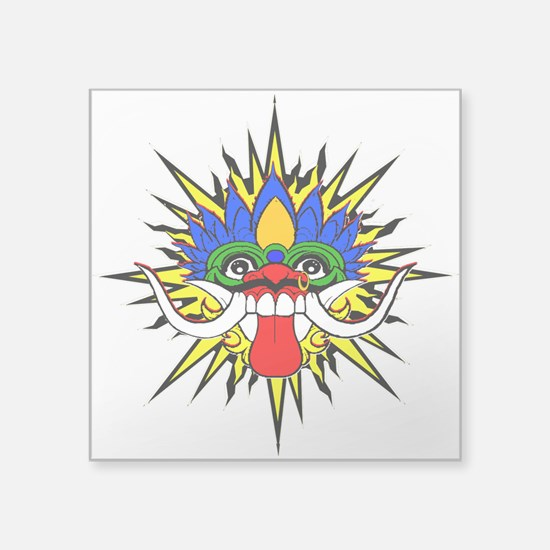 Bali mask Sticker