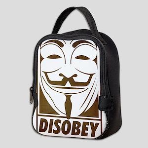 disobey Neoprene Lunch Bag