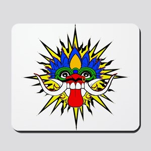 Bali mask Mousepad