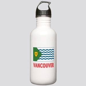 Vancouver BC Flag Stainless Water Bottle 1.0L