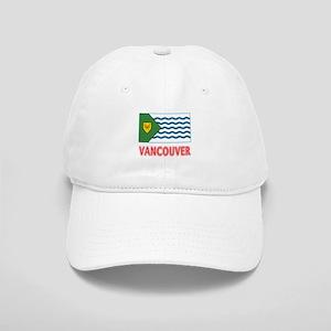 Vancouver BC Flag Cap