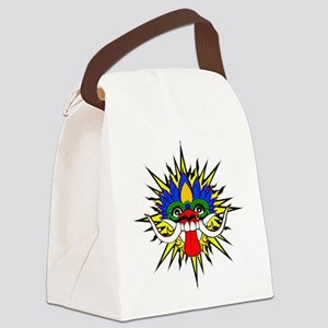 Bali mask Canvas Lunch Bag