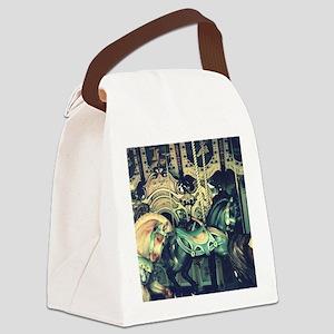 Carousel Canvas Lunch Bag