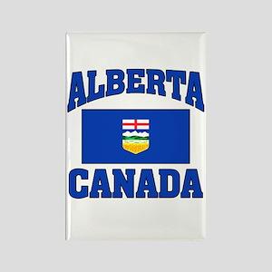 Alberta Canada Flag Rectangle Magnet