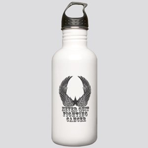 Never Quit Fighting Ca Stainless Water Bottle 1.0L