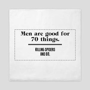 men are good for Queen Duvet
