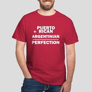 Argentinian + Puerto Rican Dark T-Shirt