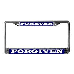 Forever Forgiven License Plate Frame