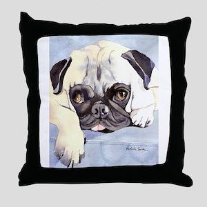 Pug Stuff! Throw Pillow