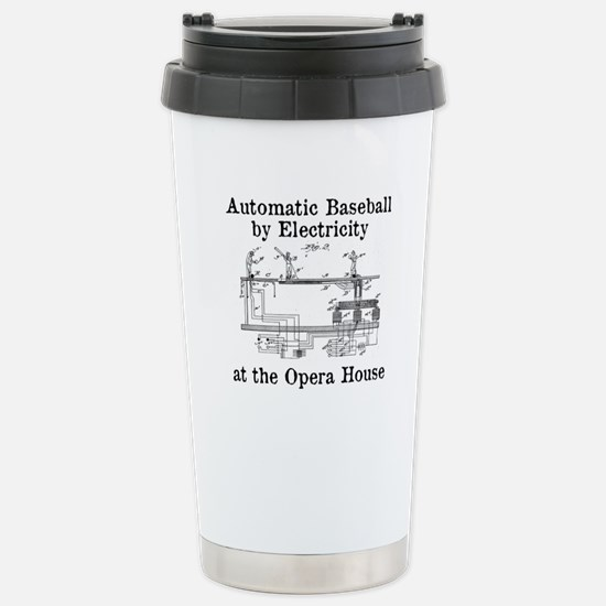 Automatic Baseball by Electricity Travel Mug
