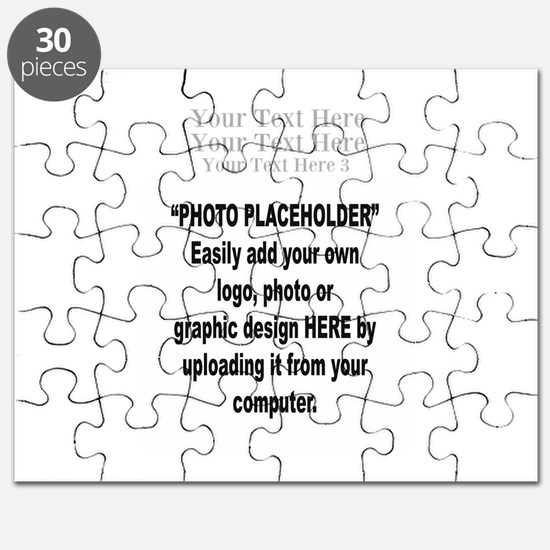 Photo with 3 Lines of Text Puzzle