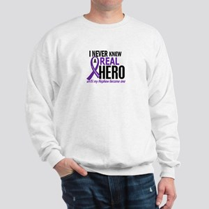 Cystic Fibrosis Real Hero 2 Sweatshirt