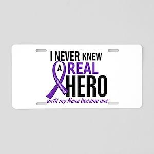 Cystic Fibrosis Real Hero 2 Aluminum License Plate