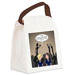 Pack Meetings Canvas Lunch Bag
