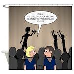 Pack Meetings Shower Curtain