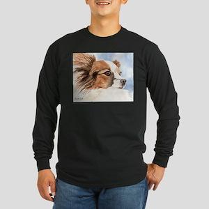 Papillon Gifts! Long Sleeve Dark T-Shirt