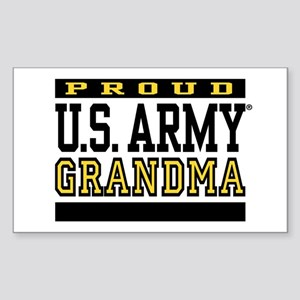 Proud U.S. Army Grandma Sticker (Rectangle)