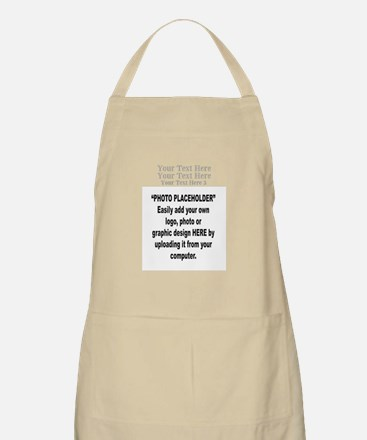 Your Photo Here with Text Apron