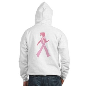 Breast Cancer Walks Hooded Sweatshirt