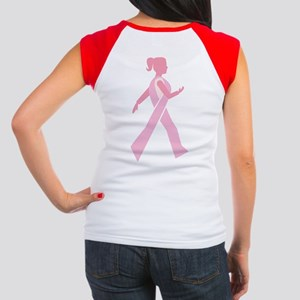 Breast Cancer Walks Women's Cap Sleeve T-Shirt