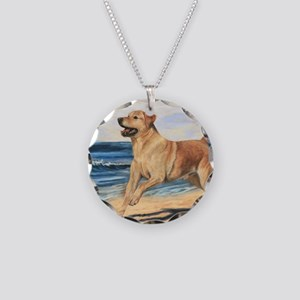 Lab on Beach Necklace
