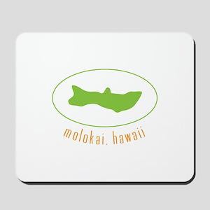 Molokai,Hawaii Mousepad