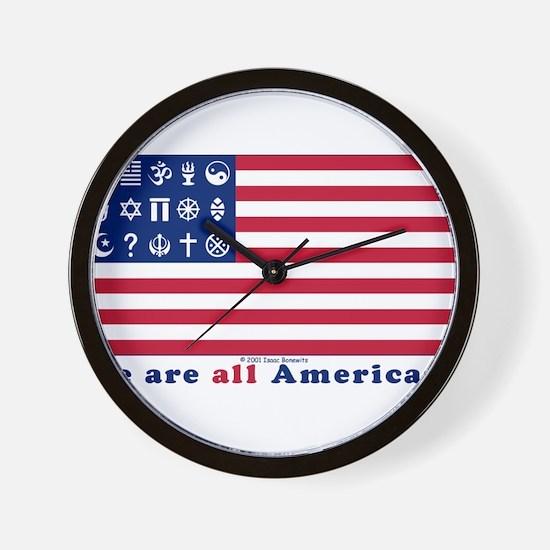 Unique Political Wall Clock