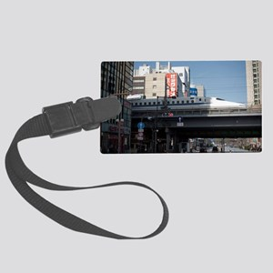tokyo bullet trian Large Luggage Tag