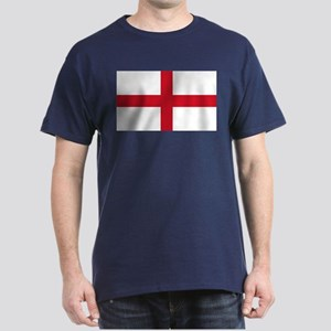 England Flag Dark T-Shirt