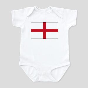 England Flag Infant Bodysuit