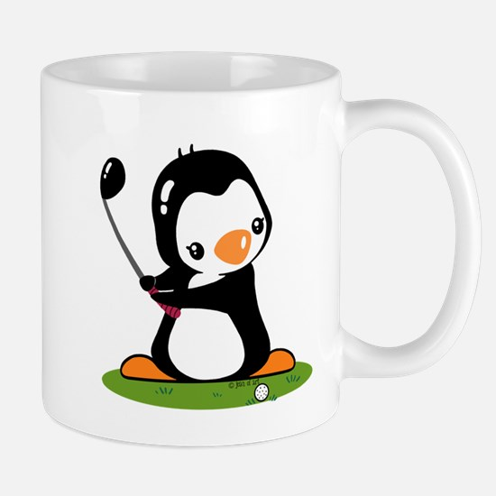 Golf Penguin Mug