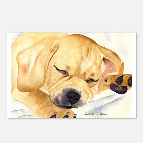 Puggle Stuff! Postcards (Package of 8)