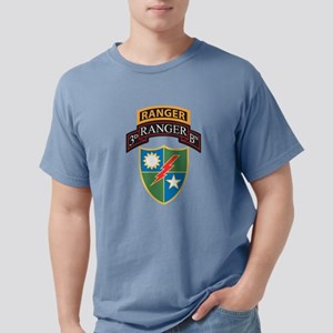 3d Batt Scroll over Ranger Crest T-Shirt