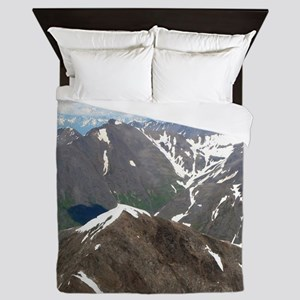 Kenai Mountains, Alaska Queen Duvet