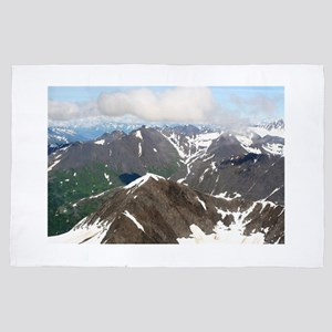 Kenai Mountains, Alaska 4' x 6' Rug