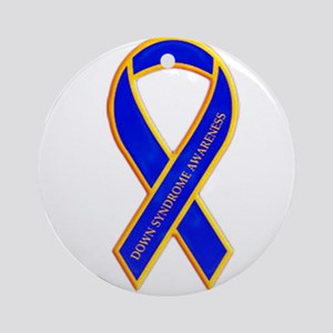 Down Syndrome Awareness Ornament (Round)