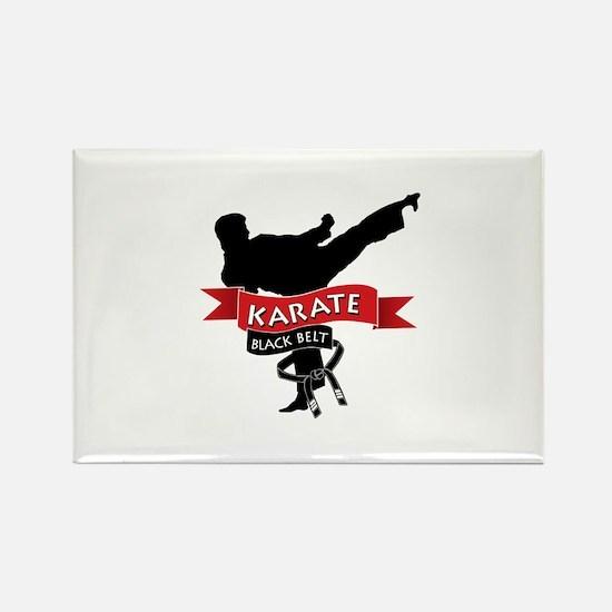 Karate Black Belt Magnets
