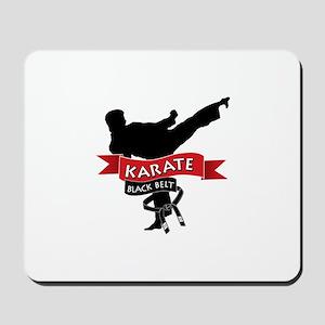 Karate Black Belt Mousepad