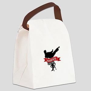 Karate Black Belt Canvas Lunch Bag