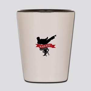 Karate Black Belt Shot Glass