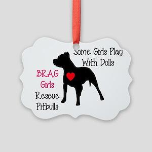 brag-girls Ornament