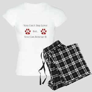 You Can't Buy Love Women's Light Pajamas