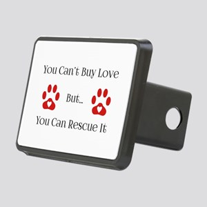 You Can't Buy Love Rectangular Hitch Cover