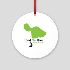 Road To Hana Maui,Hawaii Ornament (Round)