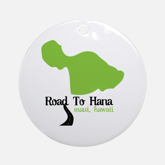 Road To Hana Maui,Hawaii Ornament (Round)