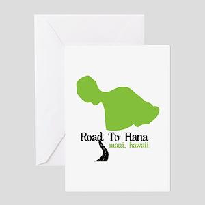 Road To Hana Maui,Hawaii Greeting Cards