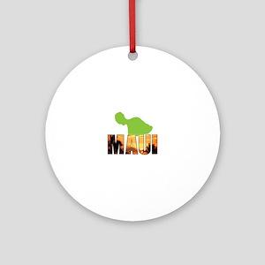 MAUI Ornament (Round)