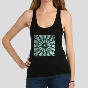 Statue of Liberty Collage Racerback Tank Top