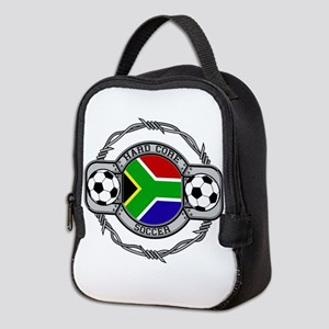 South Africa Soccer Neoprene Lunch Bag