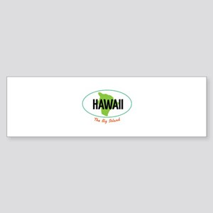 HAWAII The Big Islnad Bumper Sticker
